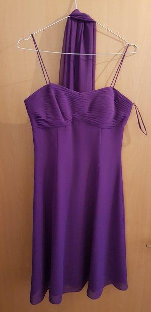 Ballkleid violett Größe 36