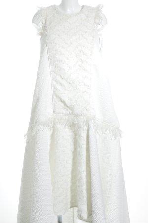 Vestido de baile blanco puro elegante