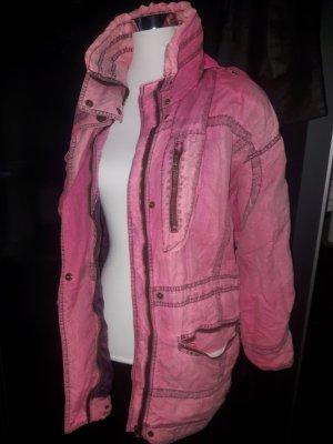 Giacca sport rosa-grigio Poliestere