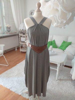 vestido de globo gris