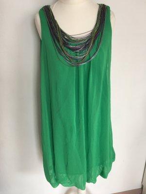 Ballonkleid Grün Gr.S von Zara