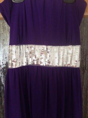 Robe ballon violet