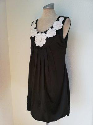 vestido de globo negro-blanco
