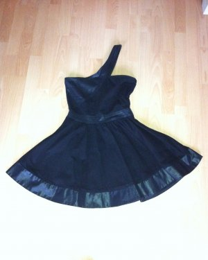 Miss Selfridge Robe ballon noir coton