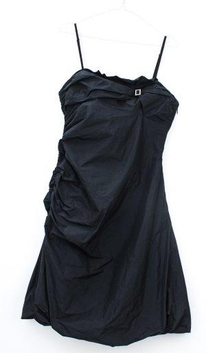 Vera Mont vestido de globo negro Poliéster