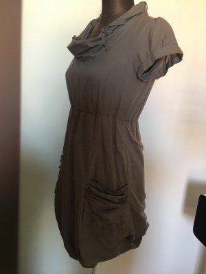 Ballonkleid Wasserfall Kleid Tunika Gr 34 36 XS S
