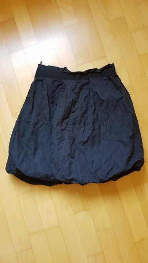 Benetton Balloon Skirt black-anthracite