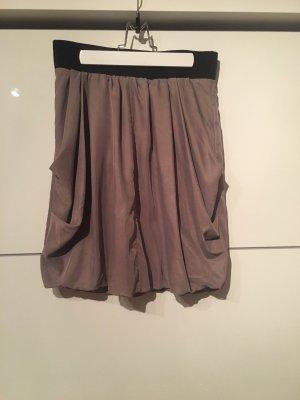 H&M Ballonrok grijs-bruin