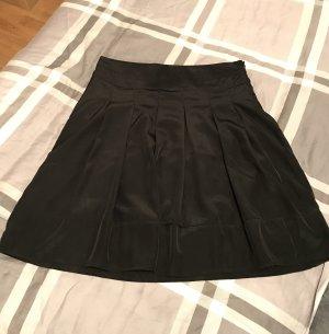 Flame Falda con volantes negro