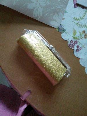 balltascherl gold glitzernd