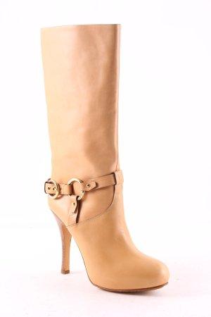 Bally Absatz Stiefel sandbraun Elegant