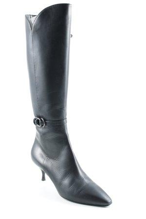 Bally Absatz Stiefel schwarz Elegant