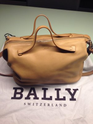Bally Bowling Bag beige-camel leather
