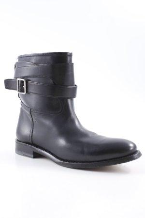Bally Chelsea Boots schwarz Biker-Look