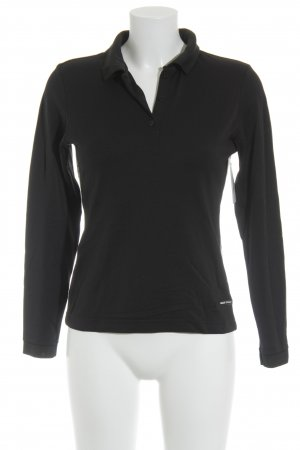 Bally Golf Long Shirt black-dark blue simple style