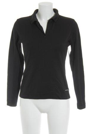 Bally Golf Longshirt schwarz-dunkelblau schlichter Stil
