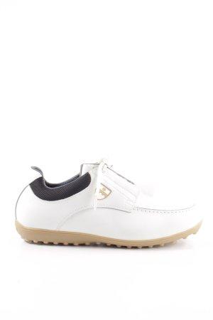 Bally Golf Schnürschuhe weiß Casual-Look