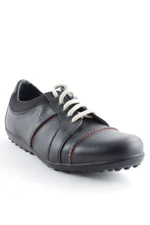 Bally Golf Sneakers met veters zwart atletische stijl