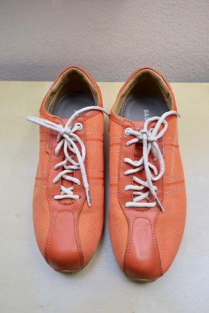 Bally Sneakers met veters neonoranje-beige