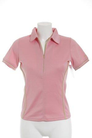 Bally Golf Sportshirt rosa schlichter Stil