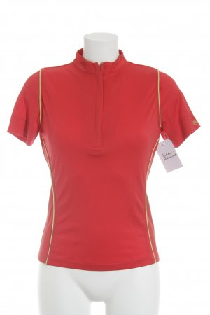 Bally Golf Sports Shirt red-neon green simple style