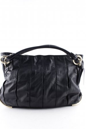 Bally Carry Bag black-gold-colored elegant
