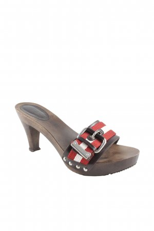 Bally High Heel Sandaletten mehrfarbig Urban-Look