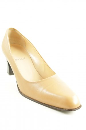Bally High Heels camel-schwarz