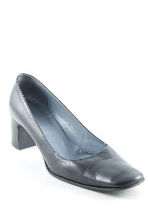 Bally High Heels schwarz klassischer Stil