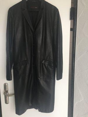 Bally  Ledermantel schwarz tolles Leder