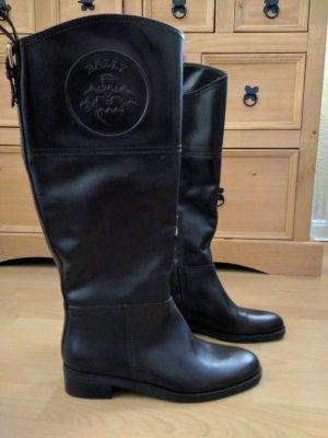 Bally Boots western brun foncé cuir