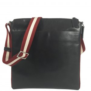 Bally Messenger Handtasche Leder Braun