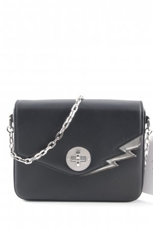 Bally Mini Bag black-silver-colored rockabilly style