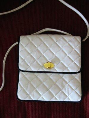 BALLY (original) elegante,feine Lederhandtasche in WEISS (für eine HOCHZEIT?)