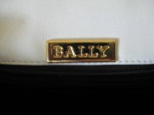 Bally Mini Bag white-black leather