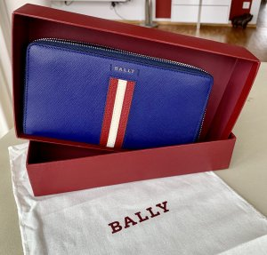 Bally Wallet cornflower blue-blue