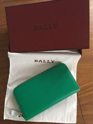 Bally Portemonnaie grün - unbenutzt