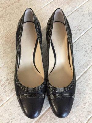 Bally Pumps black leather