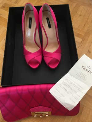 Bally Pumps 38 pink Satin