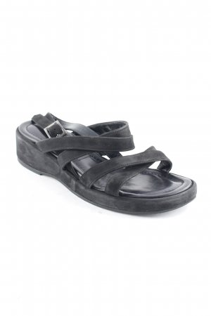 Bally Strapped Sandals black casual look