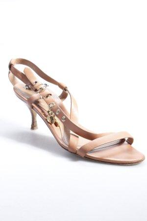 Bally Riemchen Sandaletten beige-braun