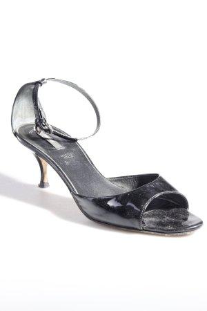 Bally Sandaletten lack schwarz