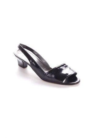 Bally Sandaletten schwarz schlichter Stil