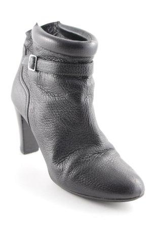 Bally Schlüpf-Stiefeletten schwarz Elegant