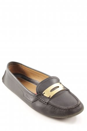 Bally Slip-on Shoes black business style