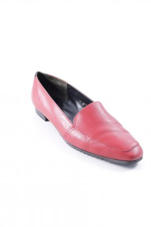 Bally Slip-on Shoes brick red business style