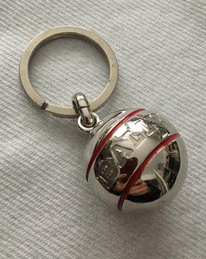 Bally Portachiavi argento-carminio