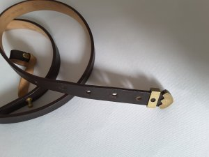 Bally Leather Belt dark brown leather