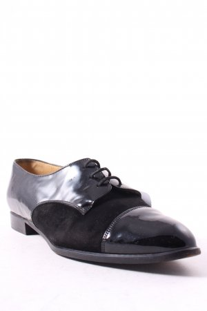 Bally Lace Shoes black casual look