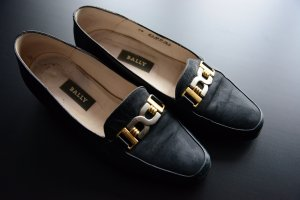 Bally Oxfords black leather